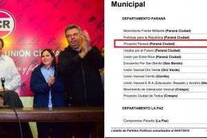 """Con la sangre en el ojo:  Varisco da el portazo del radicalismo y arma su propio sello partidario, """"Proyecto Paraná"""""""
