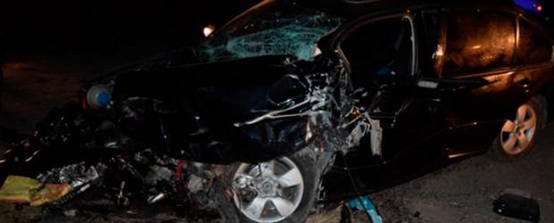 Tragedia en ruta 18: Murió otra persona y suman dos los fallecidos al chocar auto con motoniveladora