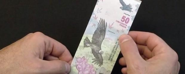 Tiene la imagen de un Cóndor Andino: Cómo es el nuevo billete de $ 50 que empieza a circular este jueves
