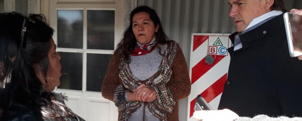 Miranda y Bordet atendieron la demanda de transporte escolar en Aldea San Isidro