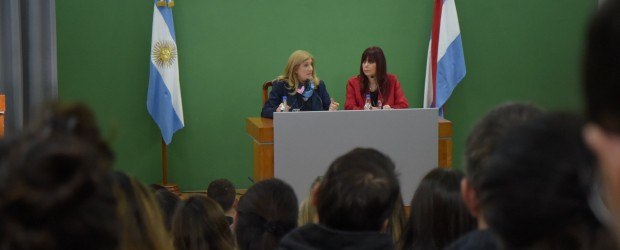 Con amplia participación se realizó la Jornada de Sensibilización: Trata y Tráfico de Personas