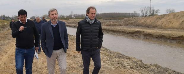 Con la obra de Paranacito, se completa el anillo de defensa contra las crecidas del rio Uruguay