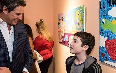 Muestra colectiva Veo Veo: el arte de los chicos vuelve a la Galería de la Vicegobernación
