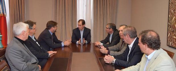 Bordet interesó a empresarios alemanes sobre el potencial de Entre Ríos para atraer inversiones