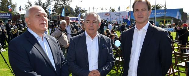 """Bordet se pronunció por """"consolidar principios de cooperación e integración"""" con Uruguay"""