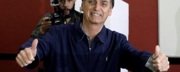 BRASIL: Bolsonaro es el nuevo presidente de Brasil, con el 55,6%