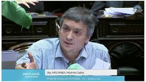 """Máximo Kirchner: """"Este Presupuesto no tiene adentro a la gente"""""""