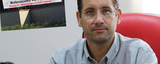 #Bizarro: Ya hay pasacalles con el rebencazo que le pegaron al intendente
