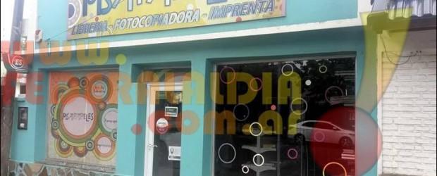 FEDERAL: Violento asalto a una oficina de cobro de servicios