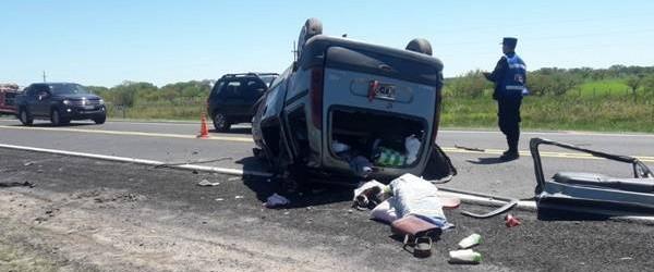 Vuelco fatal en la Ruta 12: MCurió una joven