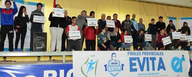 Se disputan en Concepción del Uruguay las finales provinciales de los Juegos Evita