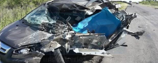 TRÁGICO: En un brutal choque perdió la vida un capitán del Ejército