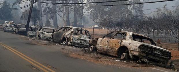 EE.UU.: Al menos 9 muertos y 35 desaparecidos en los incendios que devoran California
