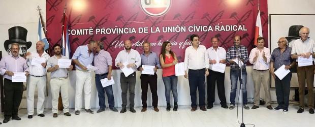 Interna UCR: Los nuevos jefes departamentales del radicalismo