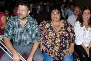 """FEDERAL: Chapino, Miranda y Gieco participaron de la presentación de """"El Becario en escena"""""""