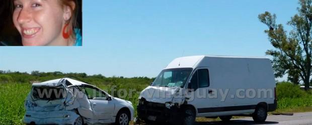 Villaguay: Falleció la joven que había resultado herida en violento accidente sobre Ruta 18