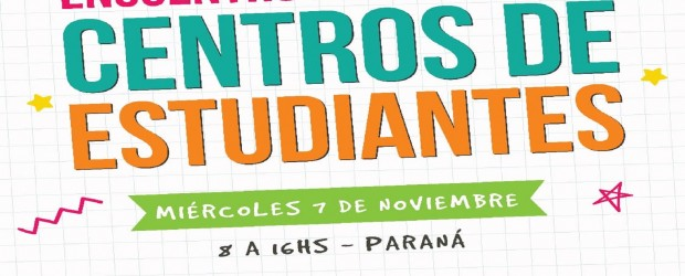 Más de 600 chicos participarán de un encuentro provincial de centros de estudiantes