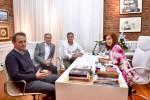 Cristina Kirchner recibió a intendentes del conurbano bonaerense