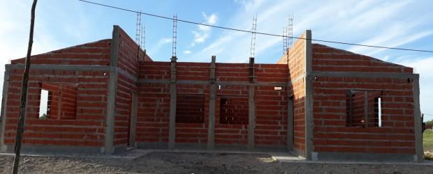 Conscripto Bernardi: Se construyen 15 viviendas con fondos provinciales en el marco del programa provincial de viviendas Primero tu Casa.