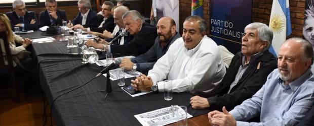 Elecciones 2019: Urribarri estuvo en la última cumbre del PJ nacional de cara a 2019