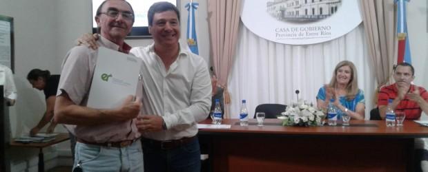 CONSCRIPTO BERNARDI: La gestión Boxler recibió aportes del gobierno provincial