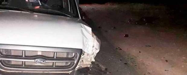 Nuevo accidente fatal: Camioneta chocó dos motos y un joven murió