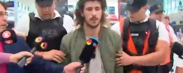 Denuncias cruzadas:  Detuvieron al hijo de la fiscal acusado de abuso: Hacía una nota en vivo por TV