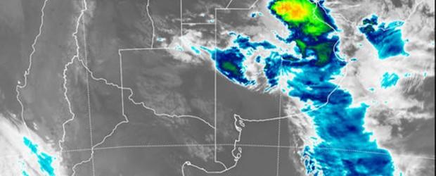 SMN: Alerta por tormentas fuertes con lluvias intensas para una zona de Entre Ríos