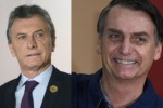Mauricio Macri llegó a Brasil y se reúne con el fascista Jair Bolsonaro