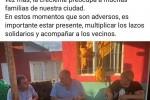 """""""Encima agarran en dólares"""":  Niez hizo campaña política con los inundados y los vecinos lo defenestraron"""