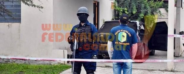 FEDERAL: Cuatro personas detenidas en allanamientos por narcomenudeo