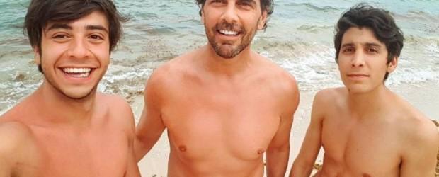 El hijo mayor de Juan Darthés increpó a una periodista en Brasil