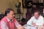 Varisco y Lacoste analizaron los acuerdos en la clínica