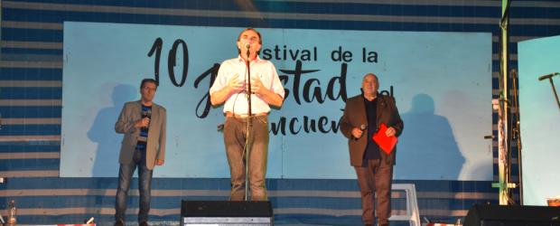 C. BERNARDI: Con un marco imponente se realizo el Festival de la Amistad y el Reencuentro