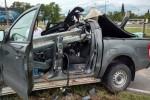 Madrugada trágica Impactante choque en Córdoba: el guardarraíl atravesó la 4×4