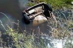 Ruta 12: Joven perdió la vida tras volcar con su auto y caer en un curso de agua