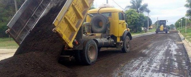 La provincia invierte más de 80 millones de pesos en obras viales de pequeñas localidades