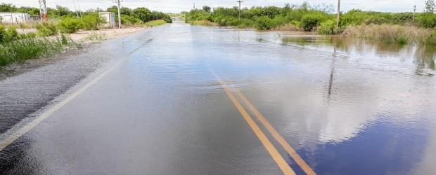 La ruta provincial 11 permanece cortada a la altura del ingreso a Victoria, desde Paraná
