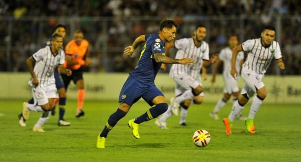 Boca volvió al triunfo con una contundente goleada ante San Martín en San Juan