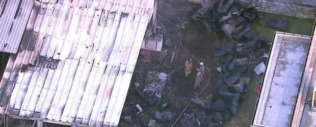 BRASIL// Incendio en un centro de entrenamiento del Flamengo: murieron 10 chicos de las inferiores