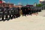 Verdurazo en Constitución: La policía disparó contra los feriantes