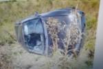 ORIUNDO DE FEDERAL: Un oficial en estado de ebriedad volcó en la ruta 22