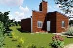 Comienza la construcción de las primeras viviendas de madera financiadas por la provincia