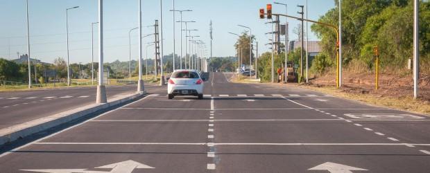 La autovía Paraná y Oro Verde presenta un avance del 80 por ciento
