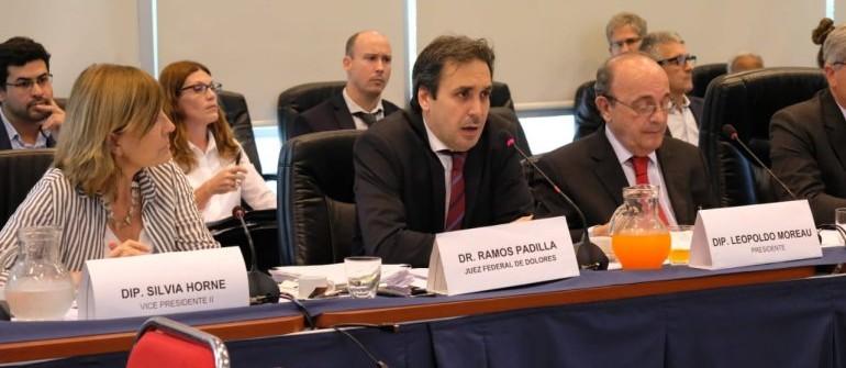 Alejo Ramos Padilla vuelve al Congreso para hablar de la causa por extorsión y espionaje