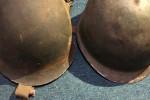 Guardó el casco de un soldado de Malvinas y ahora busca al dueño