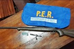 SAUCE DE LUNA: Devolvieron un arma que habían comprado y era robada