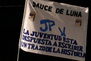 MILITANCIA: La JP de Sauce de Luna participará del encuentro con el Gobernador Bordet