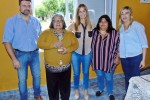 "La Senadora Nancy Miranda recibió el premio ""La Delfina"""