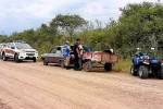 OPERATIVO CONJUNTO: Tres detenidos tras ser sorprendidos transportando carnes de una carneada ilegal